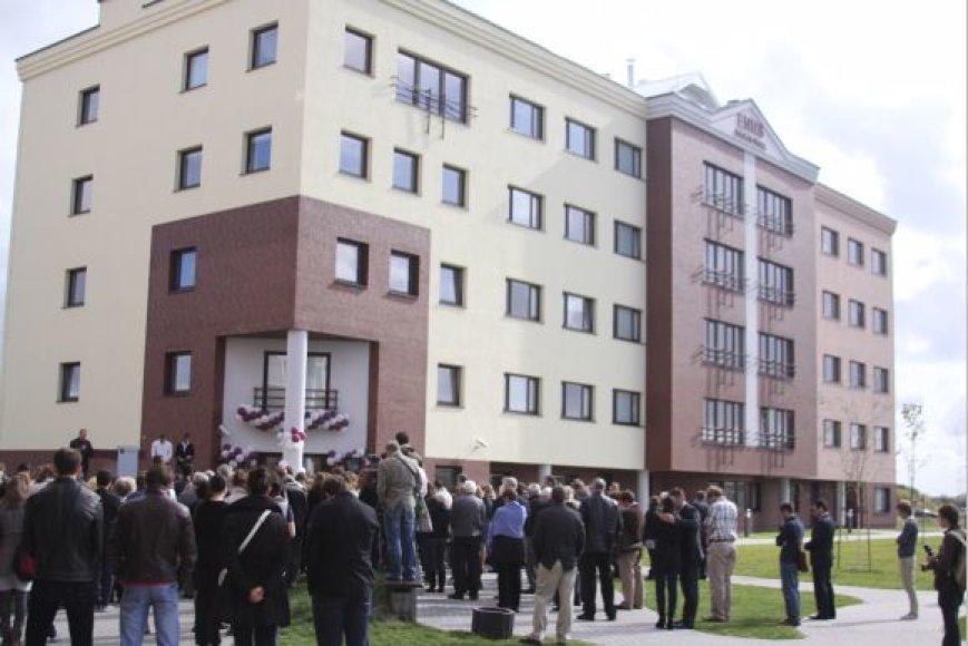 LCC tarptautinio universiteto naujasis bendrabutis.