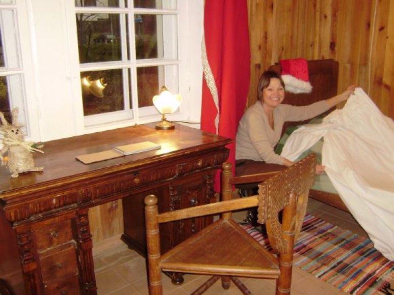 Kalėdų senelio namas jau sekmadienį lauks svečių.