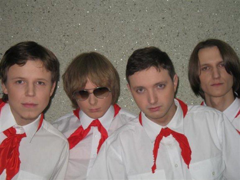 """Grupę """"Skyders"""" sudaro keturi visiškai skirtingi žmonės. Tai, anot muzikantų, yra grupės kūrybiškumo variklis"""