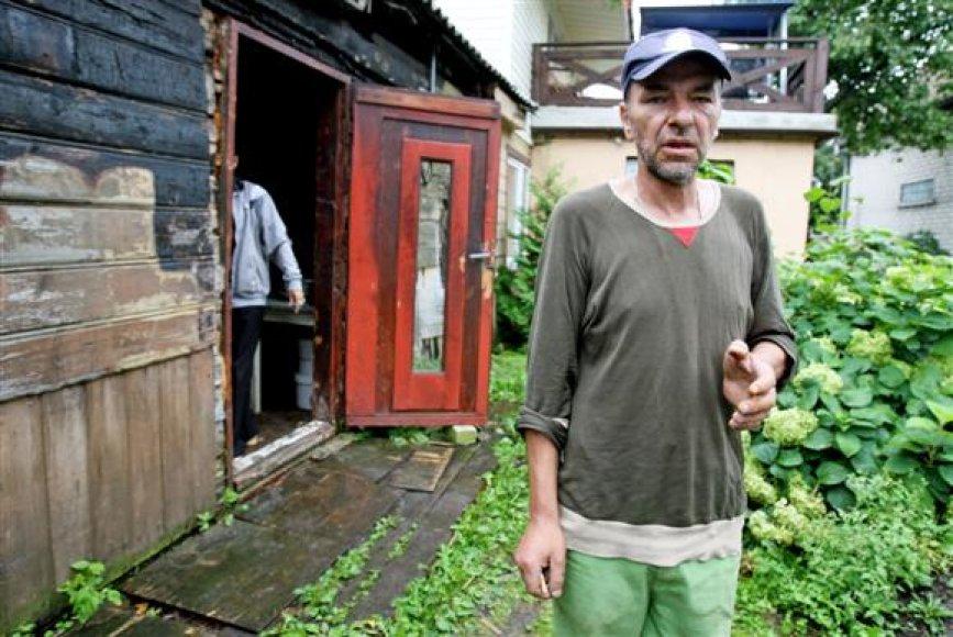 jpg Į policijos komisariatą reikiamu laiku vakar nenuvykęs E.Mažinskas neslėpė egzekucijos neprisimenantis.