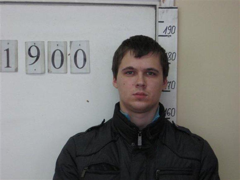 Kauno policijos sulaikytas įtariamasis
