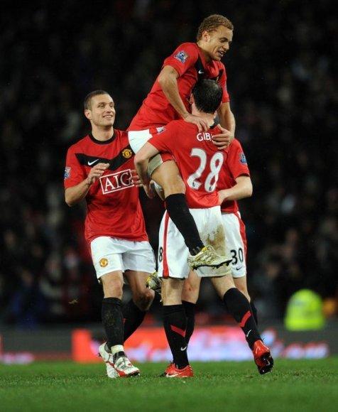 """Manchester United"" pateko į pusfinalį"