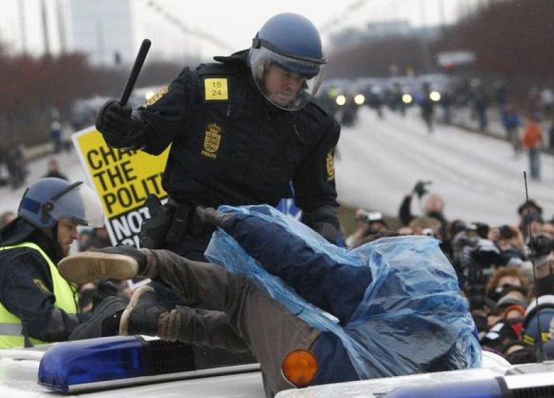 Protestai Kopenhagoje