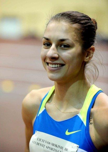 Čempionate dalyvavo daugelis pajėgiausių šalies sprinterių