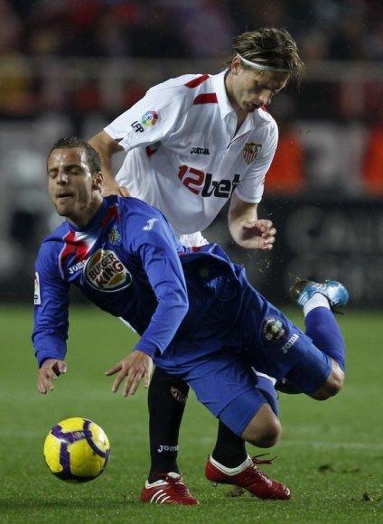 """""""Sevilla"""" pergalė"""