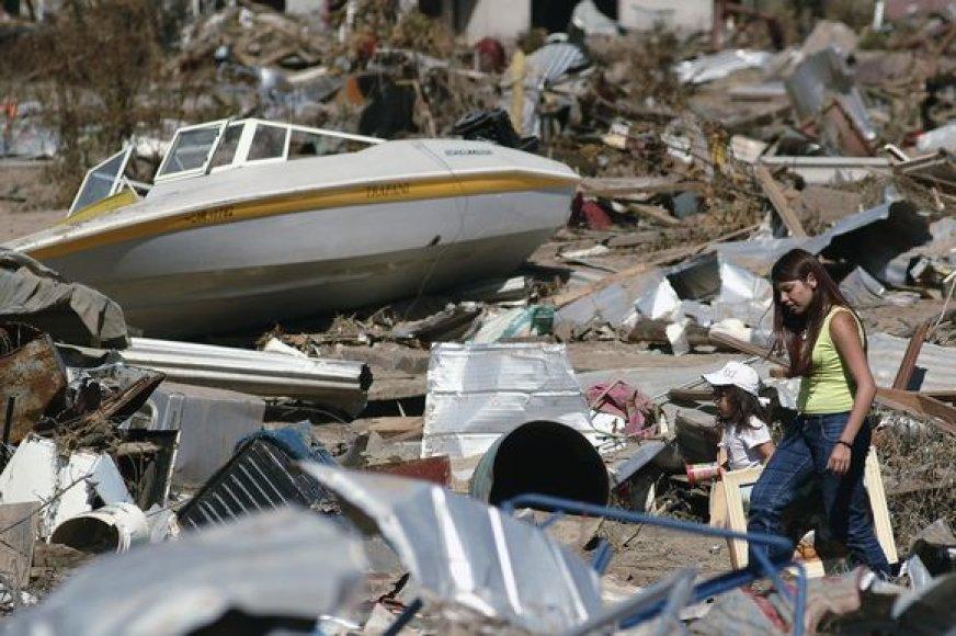 Žemės drebėjimo epicentras užfiksuotas 35 kilometrų gylyje