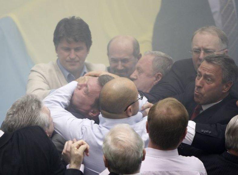 Ukrainos parlamento posėdis