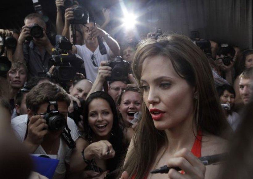 Angelina Jolie Maskvoje