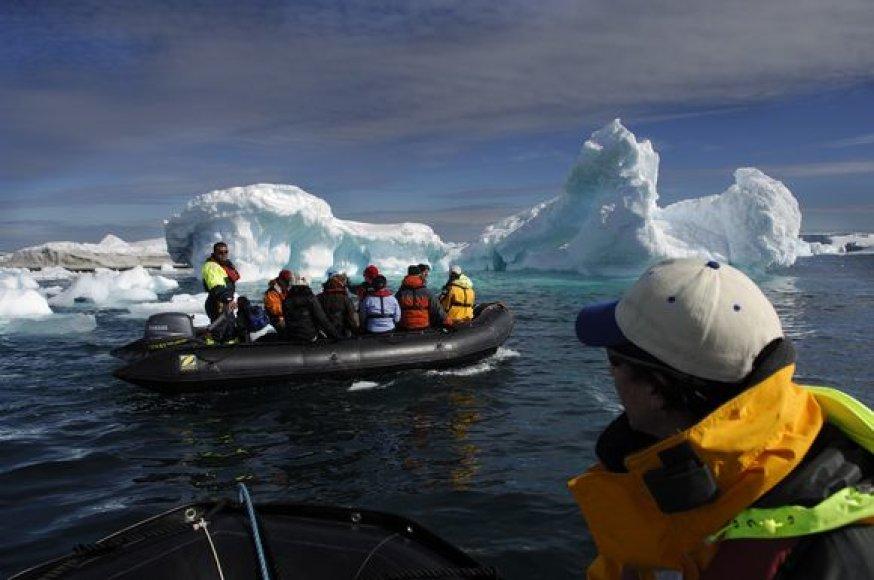 Įspūdingi Antarktidos vaizdai
