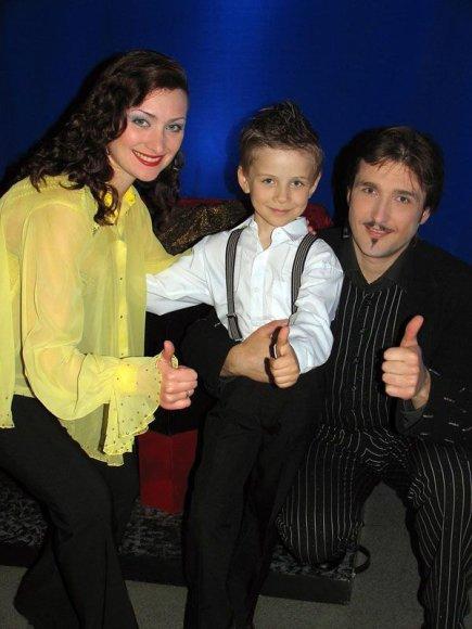 TV3 nuotr./Arvydo Gaičiūno sūnui lengviau gulėti ant kardo nei keletą minučių ramiai sėdėti
