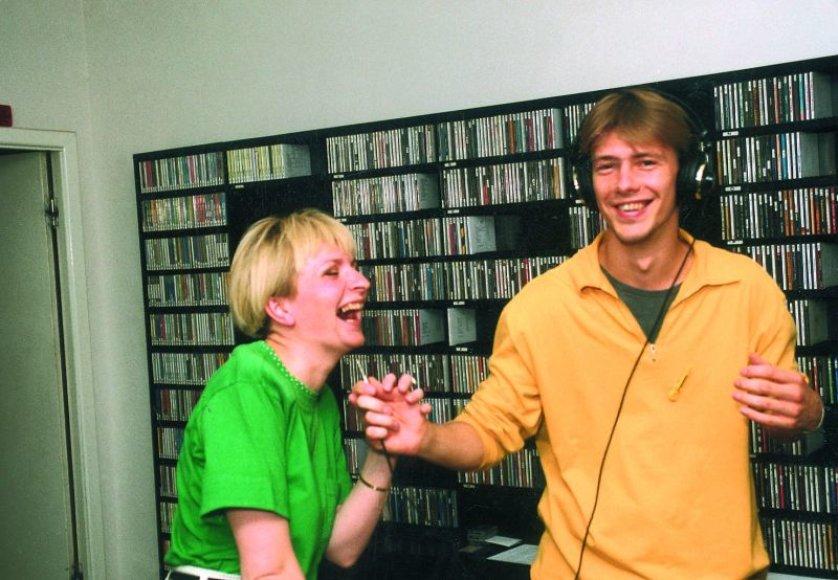 Foto naujienai: Aušros Žvirblienės-Haglund ir Giedriaus Masalskio draugystė nerūdija