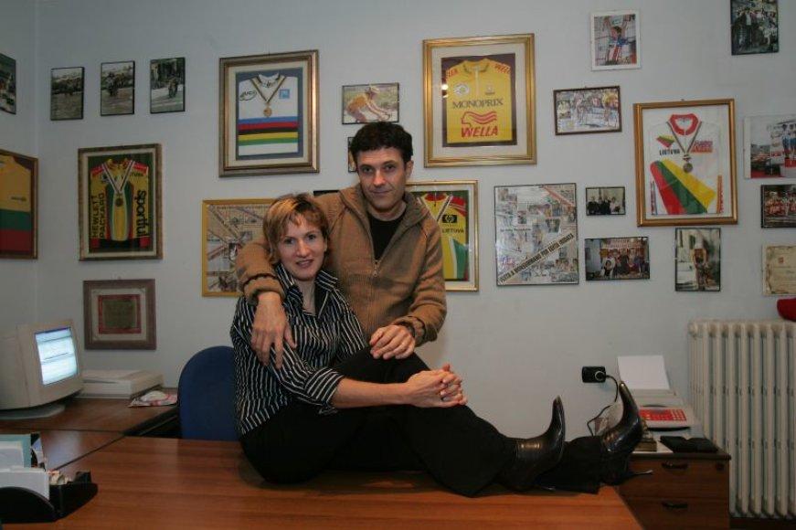 Foto naujienai: Edita Pučinskaitė labiausiai nori pabūti su vyru