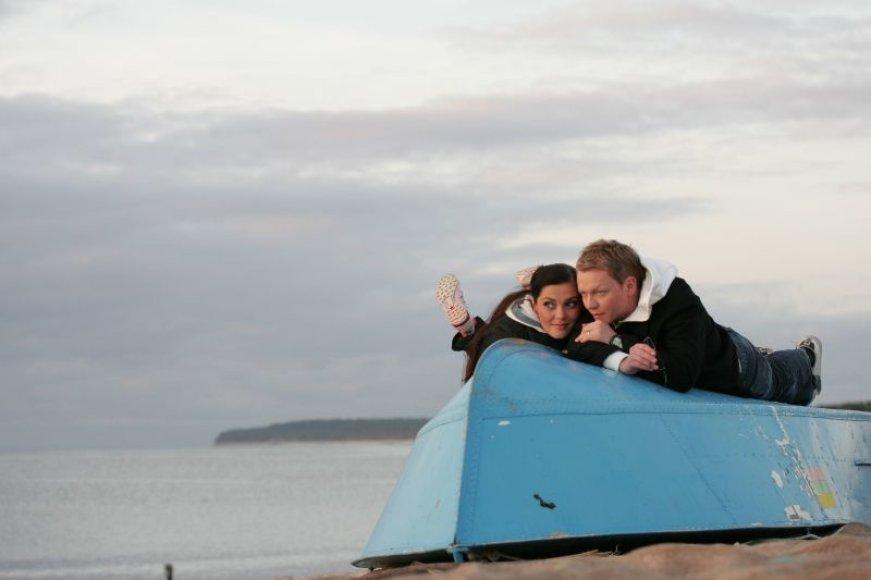 Foto naujienai: Ar Eglė ir Juozas Liesiai jau trise?