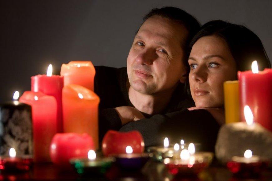 Foto naujienai: Leopoldas ir Jūratė Malinauskai: kartu per temstantį miestą...