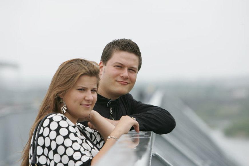 Foto naujienai: Merūnas Vitulskis jau galvoja apie tėvystę