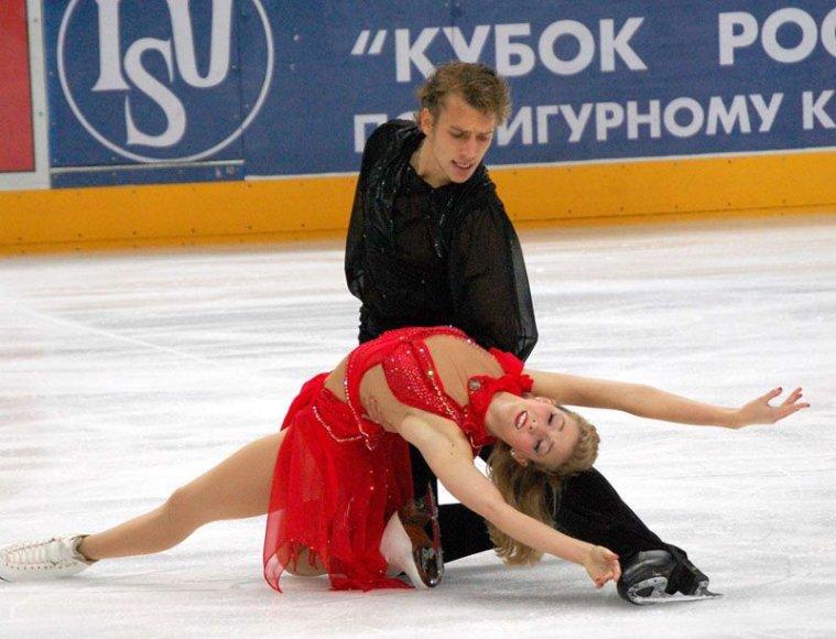 Foto naujienai: Europos dailiojo čiuožimo čempionate - Lietuvos atstovai