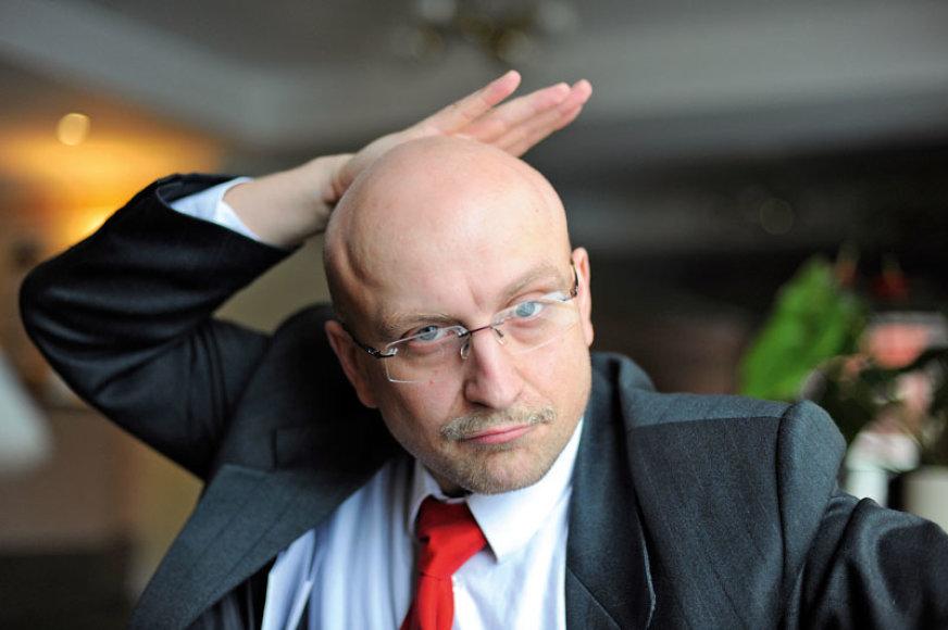 Foto naujienai: Ramūnas Šimukauskas: kuris Seimo pirmininkas – tikrasis?