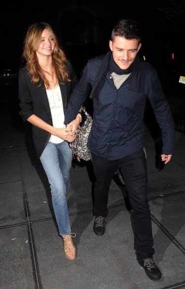 Foto naujienai: Orlando Bloomas ir Miranda Kerr susižadėjo?