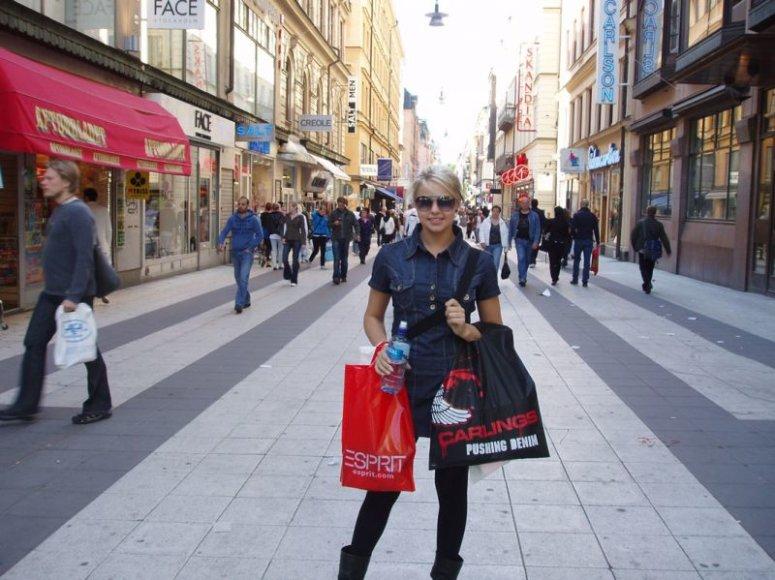 Foto naujienai: Gintarė Valaitytė: teko aiškintis, kad aš tikrai ne švedė