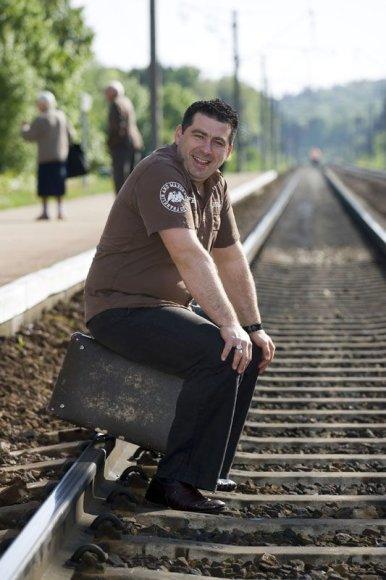 """Foto naujienai: Darius Katinas: pramogų versle – daugybė """"barakudų"""""""