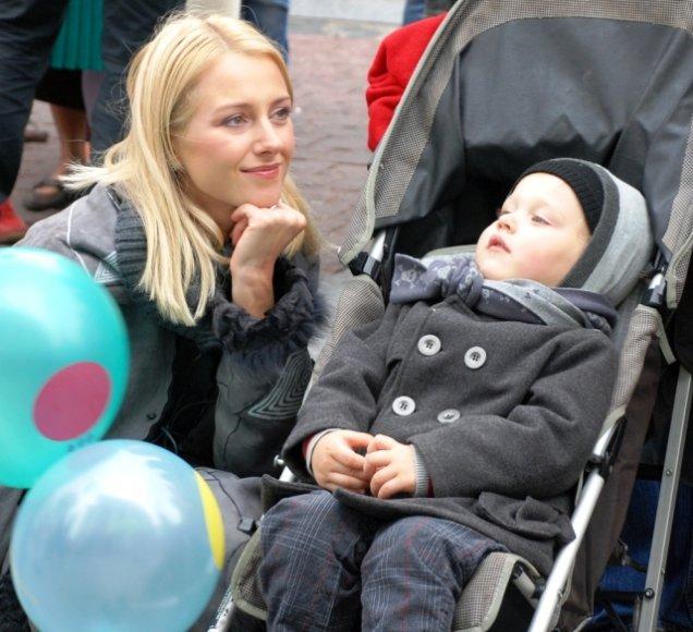 Foto naujienai: Violetos Repčenkaitės mama supranta dukrą