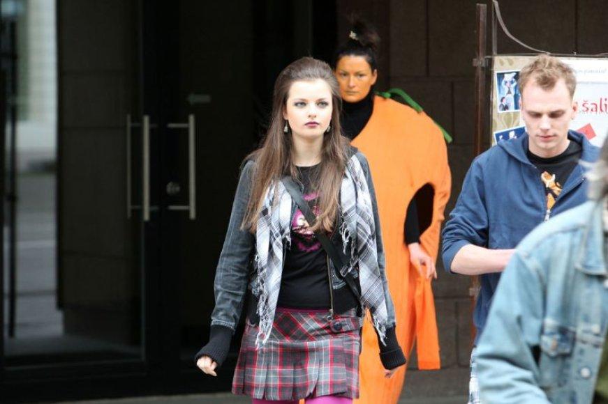 Foto naujienai: Gabrielė Martirosianaitė bus aktorė?