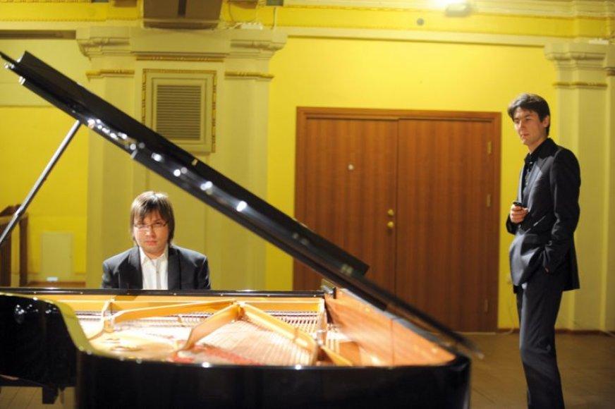 Foto naujienai: Pianistas Aleksejus Gryniuk. Virtuozo dovana