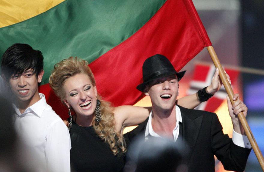 "Foto naujienai: Sasha Son(g) – ""Eurovizijos"" finale"