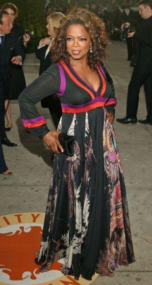 Foto naujienai: Oprah Winfrey – juodasis perlas