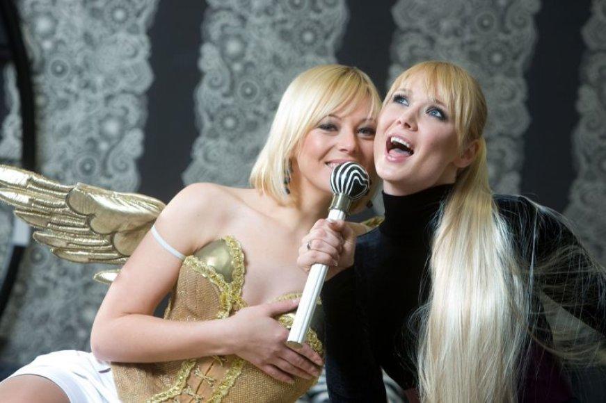 Foto naujienai: Vilija Pilibaitytė-Mia ir Natalija Zvonkė: drauge į žvalgybą neitume