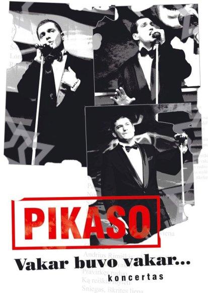 """Foto naujienai: Grupės """"Pikaso"""" didysis sugrįžimo koncertas – DVD diske"""