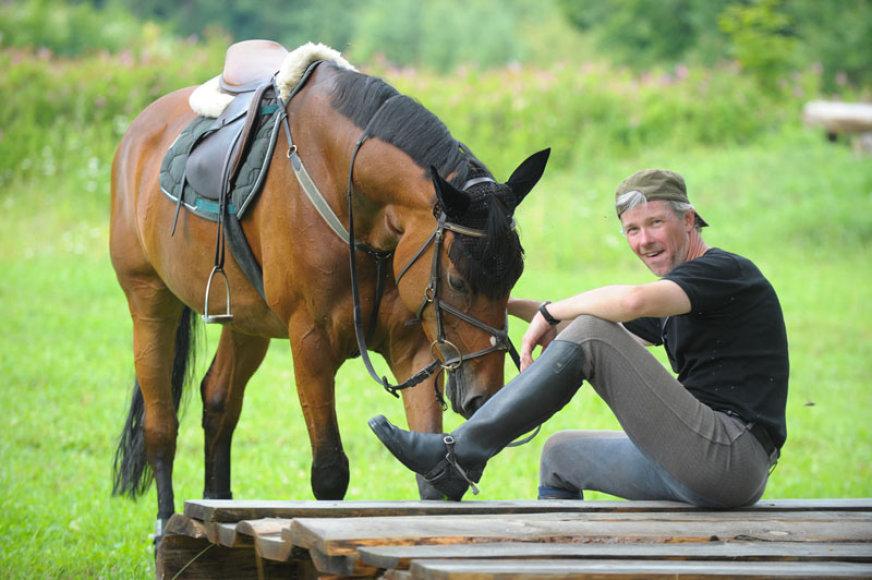 Andrius Kaniava: tarp žirgų