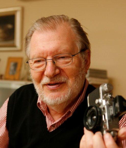 Foto naujienai: Juozas Budraitis. Iki šiol jaučiuosi lyg išvykoje