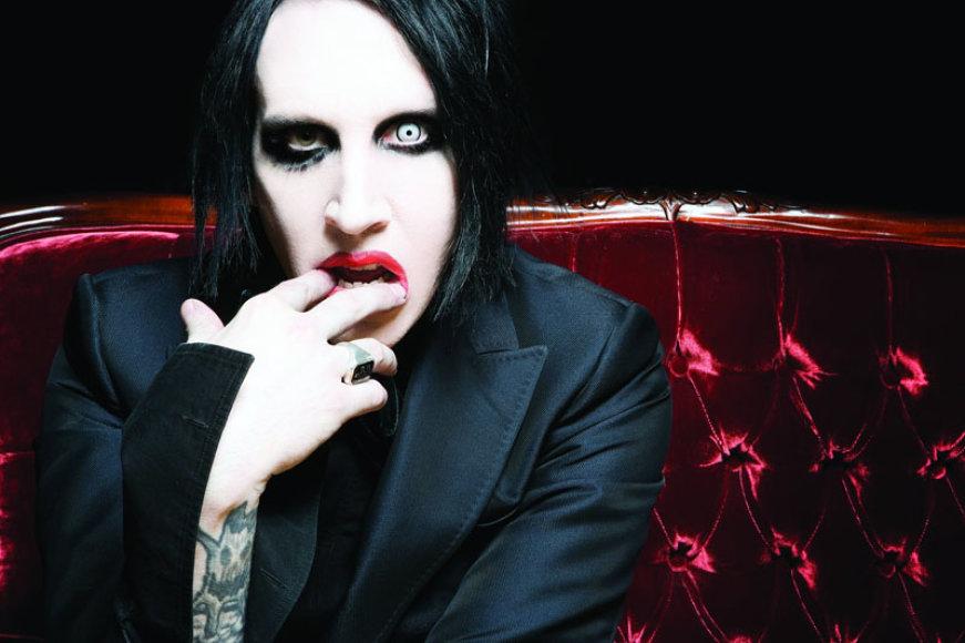 Skandalistas Marilyn Mansonas surengs įspūdingą šou Latvijoje
