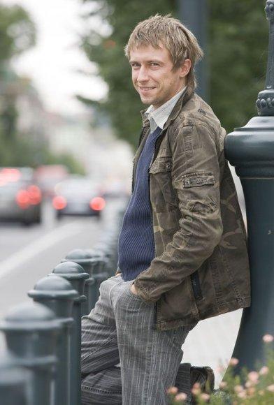 Foto naujienai: Marius Jampolskis: milijono išlošti nebandau. Užsidirbsiu!