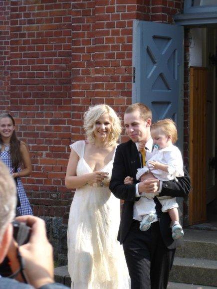 Foto naujienai: Jurga Šeduikytė ir Vidas Bareikis: kur susipažino, ten ir susituokė