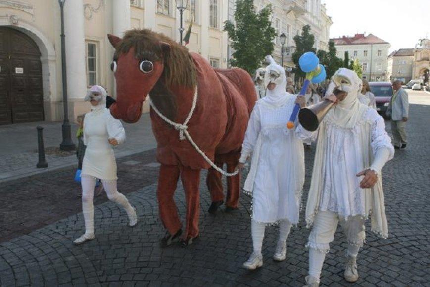 Įvairių sričių amatininkai džiaugėsi švente