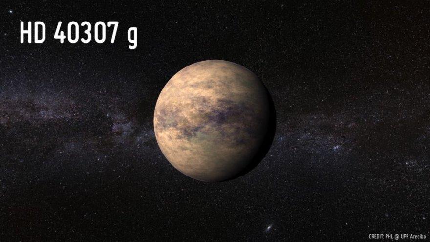 """Astronomų atrastoje planetoje """"HD 40307g"""" yra gyvybei ypatingai palankios sąlygos."""