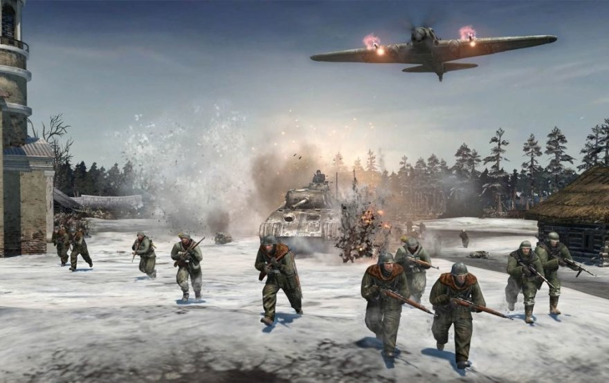 "Strateginis žaidimas ""Company Of Heroes 2"""