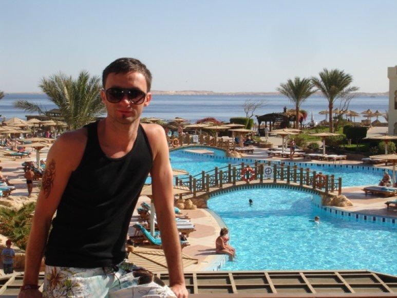 Eimutis Kvoščiauskas Egipte