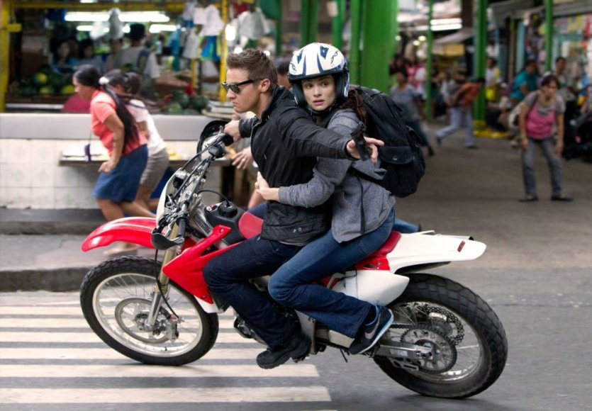 "Rachel Weisz ir Jeremy Renneris filme ""Bornas. Palikimas"""