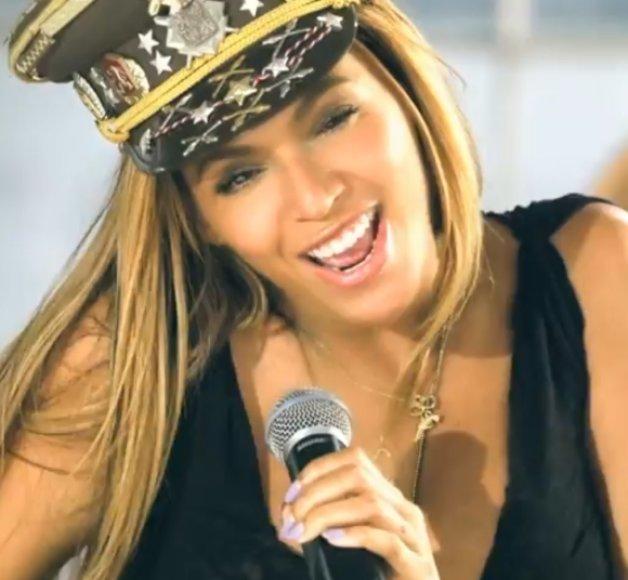 """Beyonce vaizdo klipe """"Love On Top"""""""