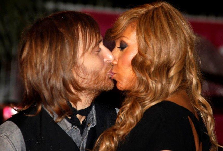 Davidas Guetta su žmona Cathy