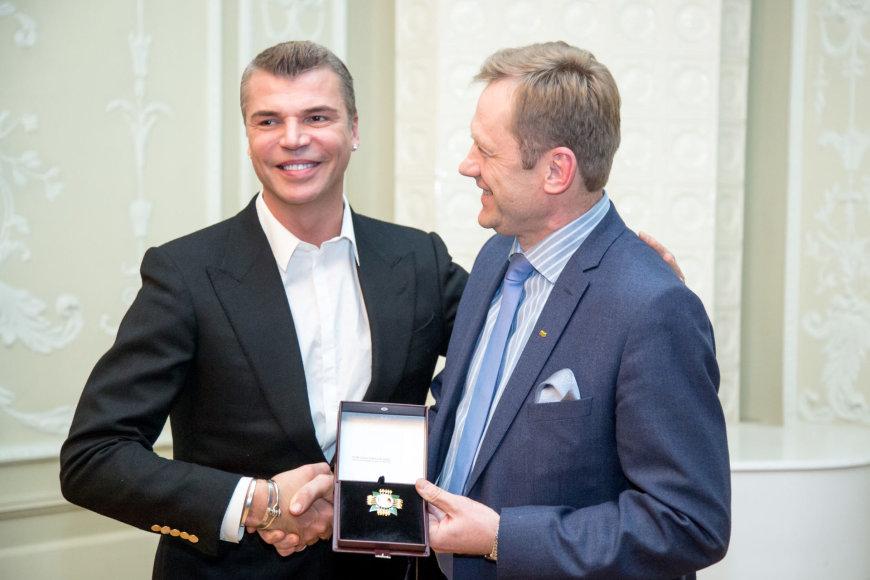 Juliaus Kalinsko / 15min nuotr./Juozas Statkevičius ir Šarūnas Birutis