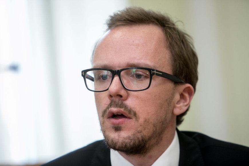 "Juliaus Kalinsko / 15min nuotr./ ""Uber""  vadovas Baltijos šalyse Ennas Metsaras"