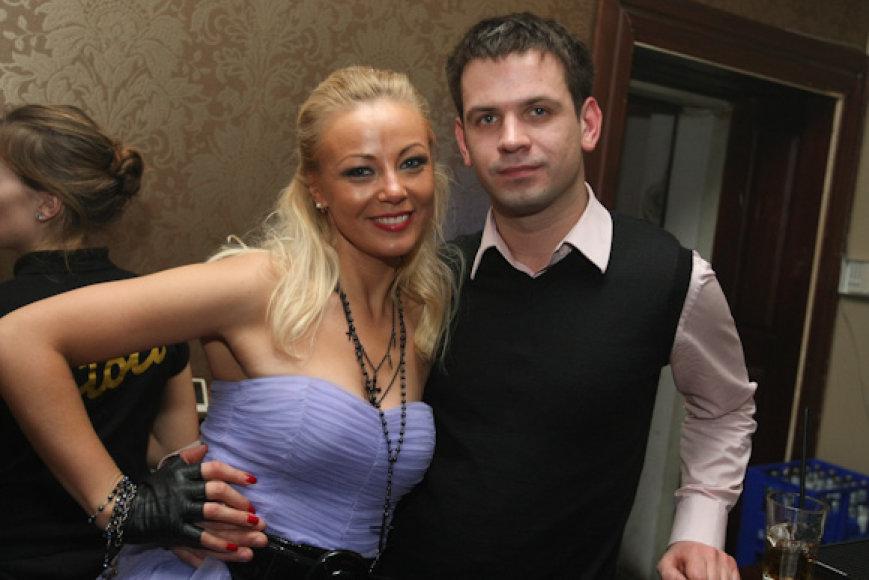 Vilija Pilibaitytė-Mia su draugu Dominyku