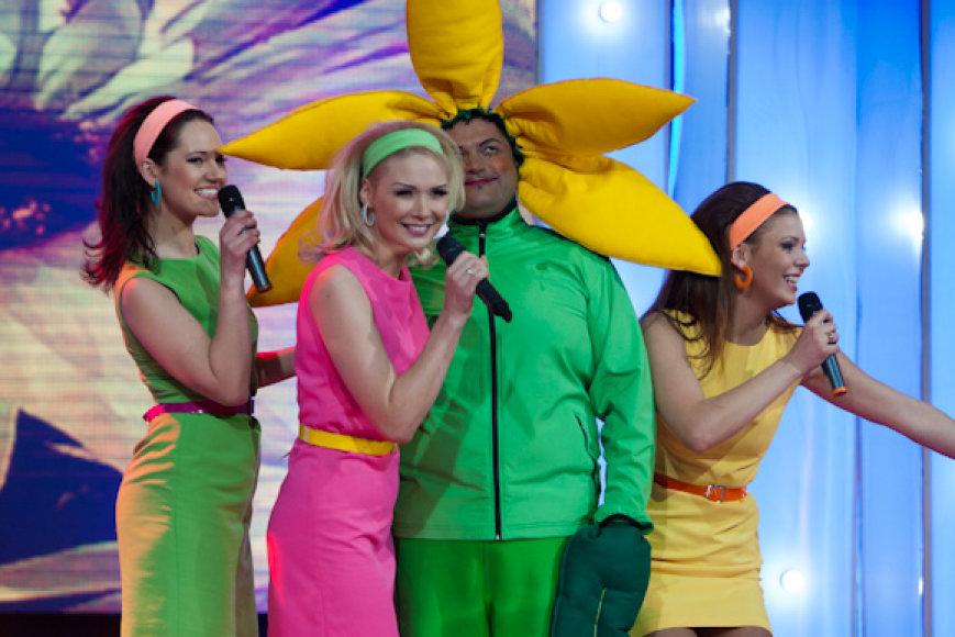 Iš kairės: Eglė Čepaitė, Natalija Bunkė, Vitalijus Cololo, Dileta Meškaitė