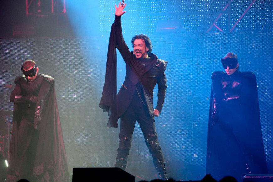 Filippo Kirkorovo koncertinis šou Vilniuje