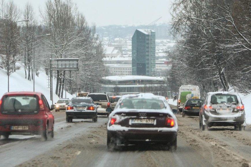 Sudėtingos eismo sąlygos