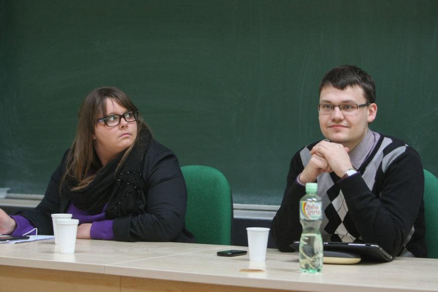 Miglė Liorančaitė ir Paulius Baltokas